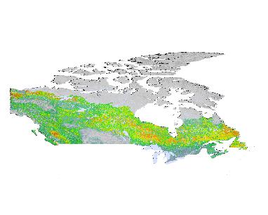 Geospatial Data Extraction on new world map canada, zoomed in world map, color map of canada, close up map of canada, landscape map of canada, atlas map of canada,